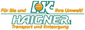Haigner Transport & Entsorgung GmbH aus Marchtrenk in OÖ | Baustellentransporte, Kranarbeiten, Kanalservice, Strassenreinigung, HD-Strassenreinigung, Öltankreinigung & Entsorgung von Ihrem Fachmann aus Marchtrenk in OÖ.